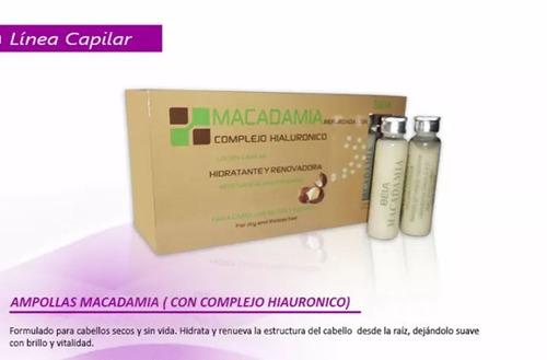 locion capilar macadamia &complejo hialuronico