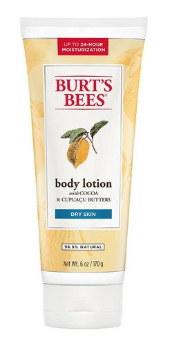 loción corporal burts bees cacao y cupuazú x2