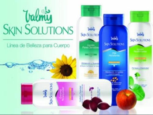 loción crema corporal hidratante valmy skin solutions 240cm3