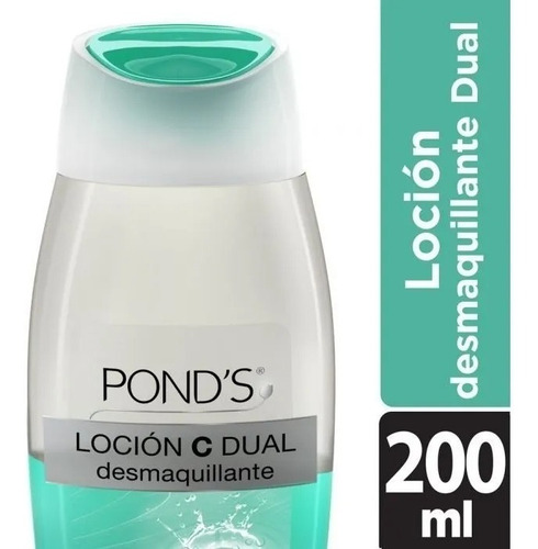 locion desmaquillante ponds c dual hydratante 200 ml
