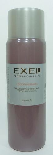 locion herbacea con hamamelis 250ml exel