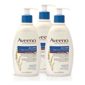 Loción Hidratante Aveeno® Skin Relief Coco Nutritivo 3unid
