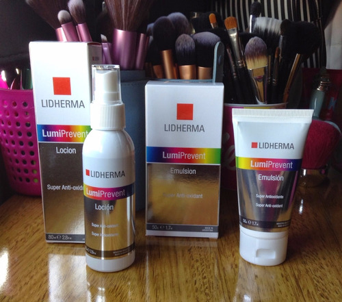 loción lumiprevent 80ml lidherma