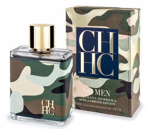 locion o perfume hombre carolina herrera africa 100 ml