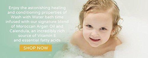 loción orgánica wash with water piel sensible para bebé 1