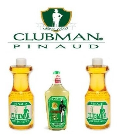 locion para despues de afeitar clubman after shave americano