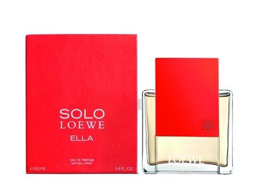 loción perfume solo loewe ella 100ml original garantizada
