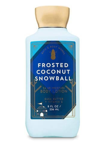 lociones bath and body works frosted coconut