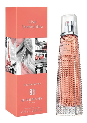 locion/perfume dama gievenchy- live irresistible 75 ml