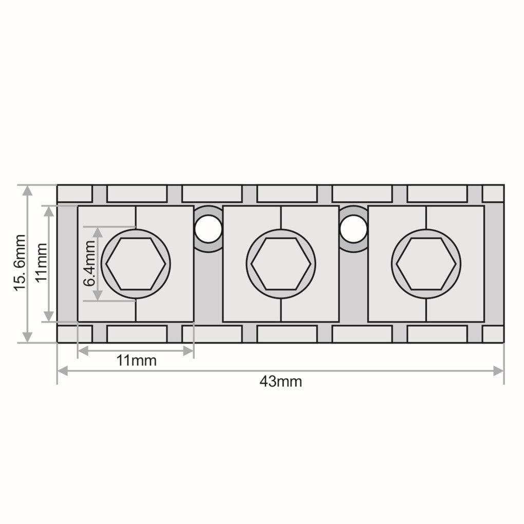 Lock Nut Pestana Trava Cordas Floyd Rose 43mm Cromado R 4200 Diagram Carregando Zoom