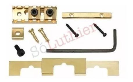 lock nut | trava cordas | gotoh | ghl-2 dourado