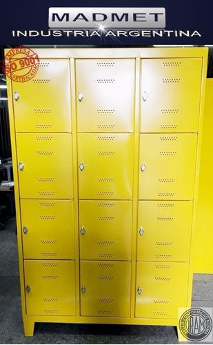 locker bolsero 20 puertas 40x30 unico 52cm prof envio gratis