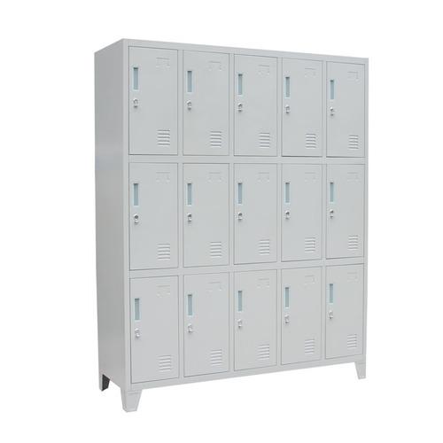locker - casillero metálico 15 puertas armado