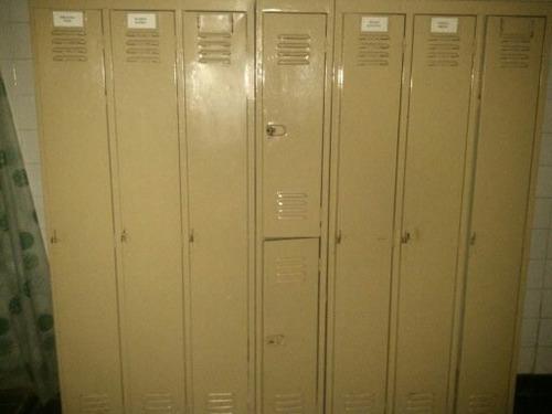 locker guardarropas 3 puertas largas