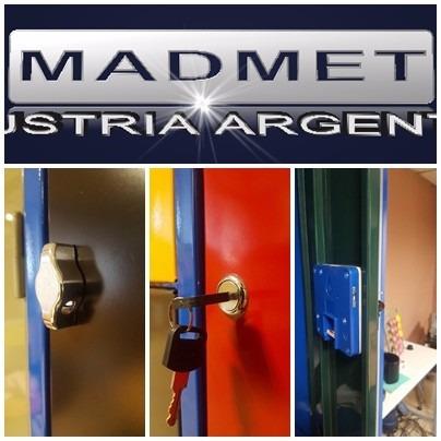 locker metal 12 puertas unicos 52cm prof envio gratis 72hs
