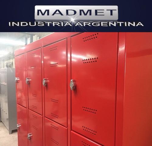 locker metal 24 puertas unico 52cm prof envio gratis 72hs