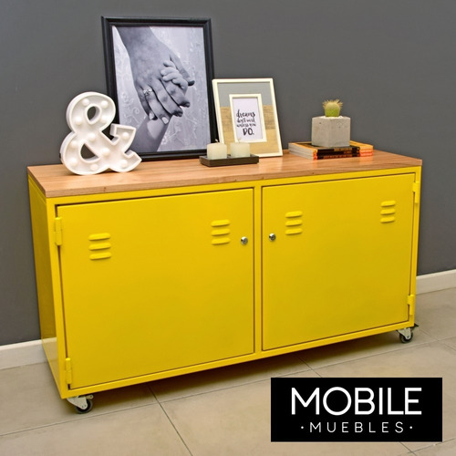 locker metalico, mueble chapa, estilo industrial