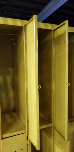 locker vintage de 6 puertas reforzado