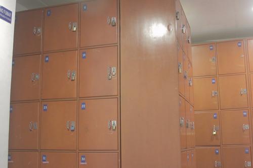 lockers casilleros de compuesto de madera