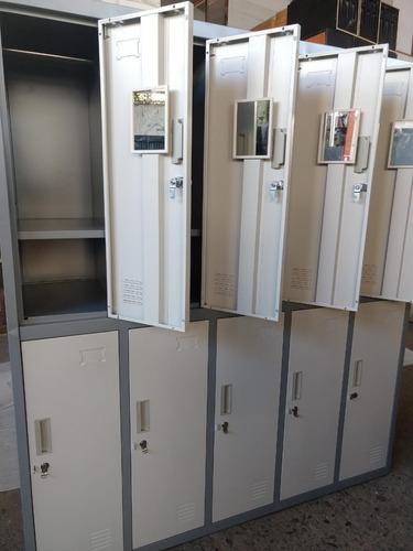 lockers metalicos 10p