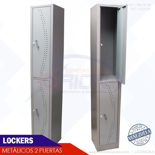 lockers metalicos 4 puertas casilleros estanteria