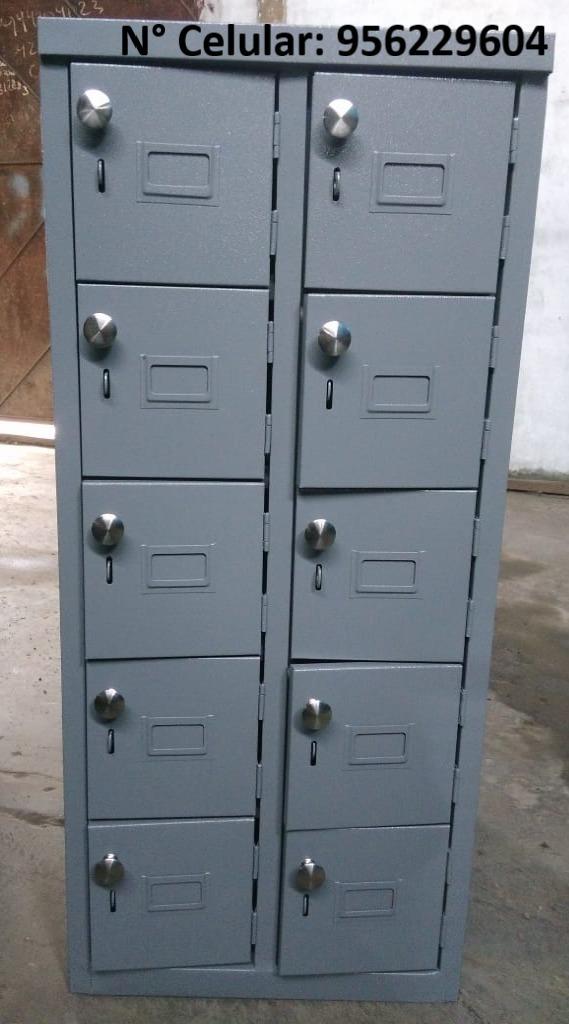 lockers porta celulares de ,10,20,30,60 y 80 puertas