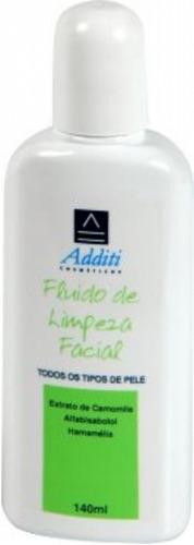 loção de limpeza facial additi 140 ml