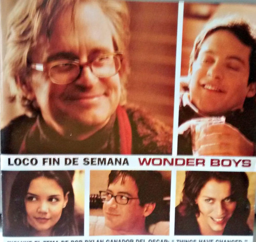 loco fin de semana-michael douglas cd wonder boys soundtrack