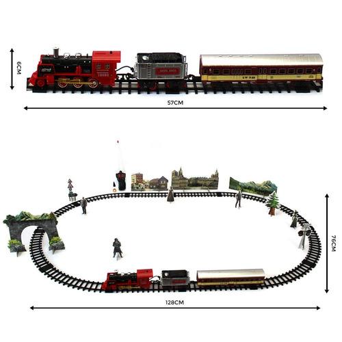 locomotiva ferrorama controle remoto - mc18101