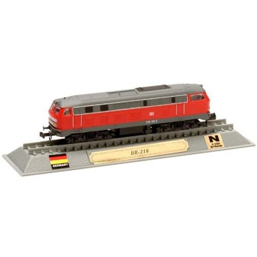 locomotivas do mundo edição 51 br-218