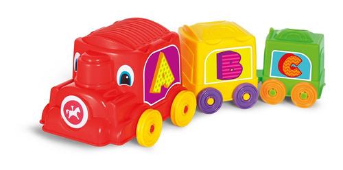 locomotora animada calesita 733