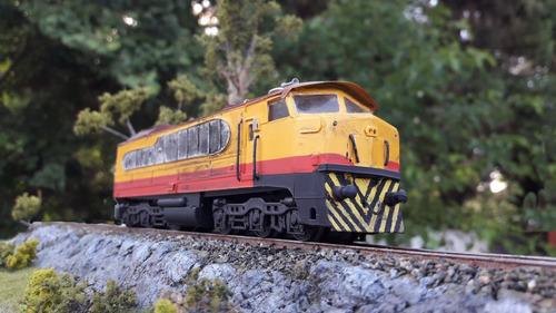 locomotora baldwin lima hamilton ferrocarriles argentinos