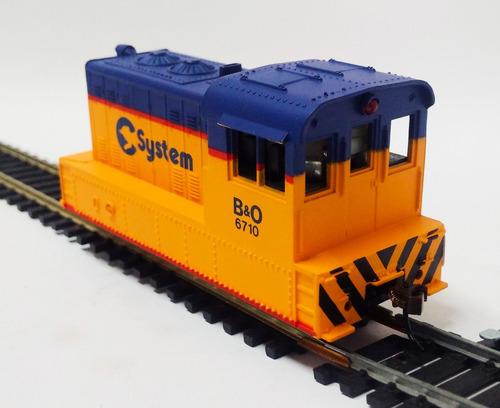 locomotora de maniobra - escala 1/87 h0 simil life-life