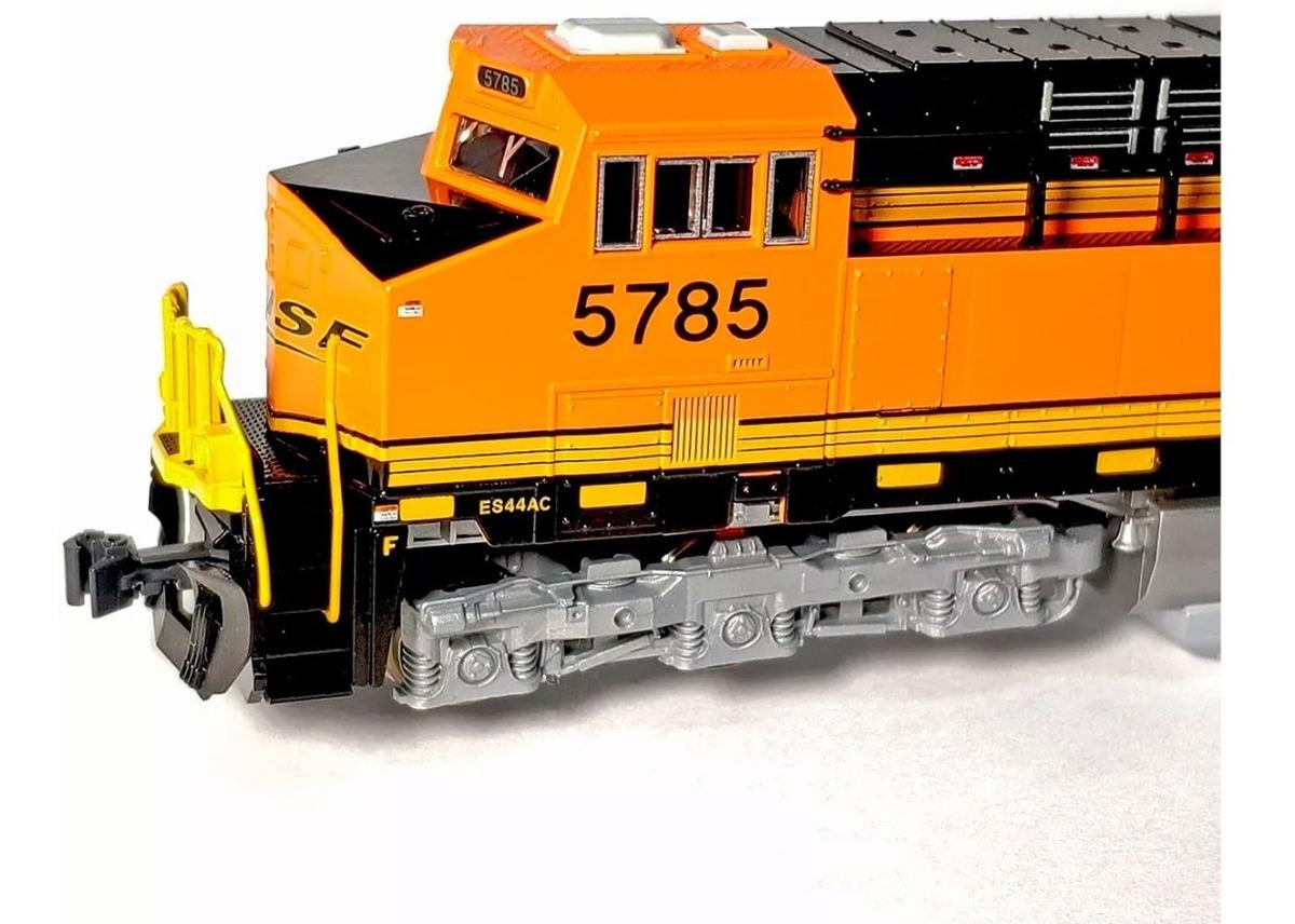 Locomotora Kato Escala N Ge Es44ac Bnsf Rielerita