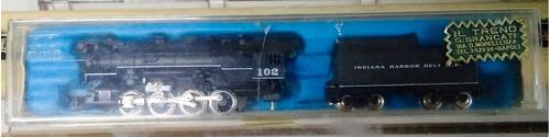 locomotora vapor indiana harbor 102- escala n rivarossi 9134