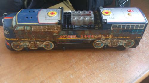 locomotora vintage de lamina diesel locomotive japon maa