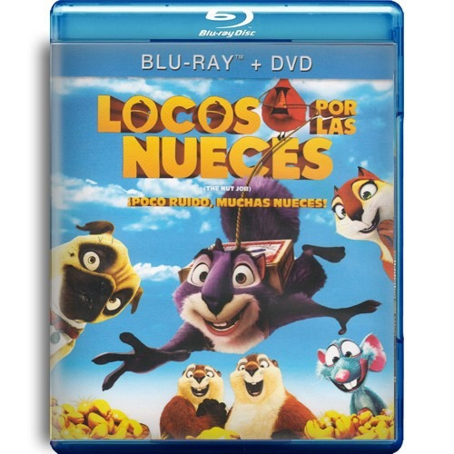 locos por las nueces the nut job la pelicula blu-ray + dvd