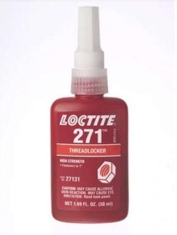 loctite 271 trabarosca alta resistencia rojo 50m made in usa