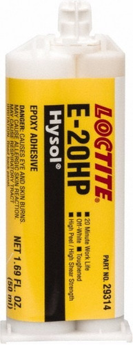 loctite ea e-20hp adhesivo epoxico hysol jeringa dual 50ml