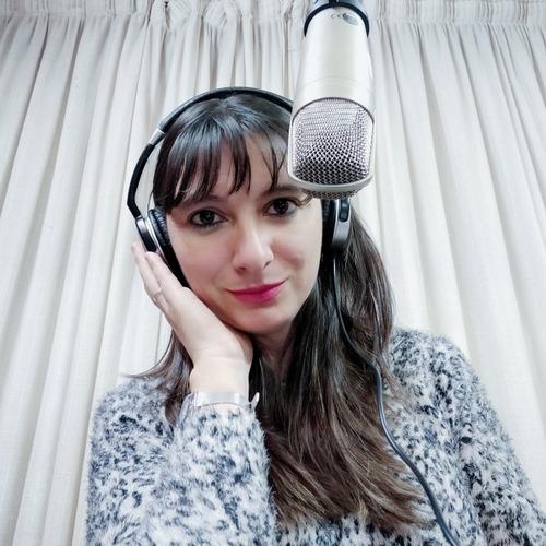 locutora comercial, institucional, videos. voz. grabaciones.