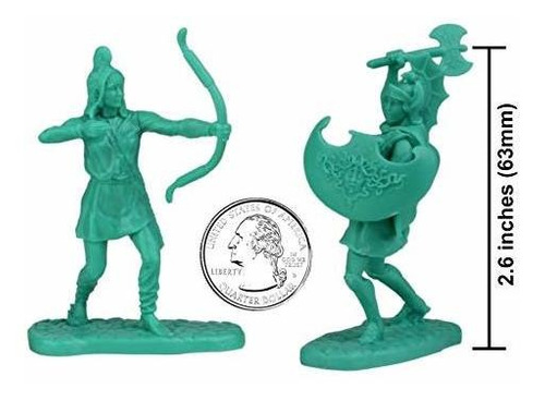 lod trojan war plastic amazon warrior figures - 12pc antigua