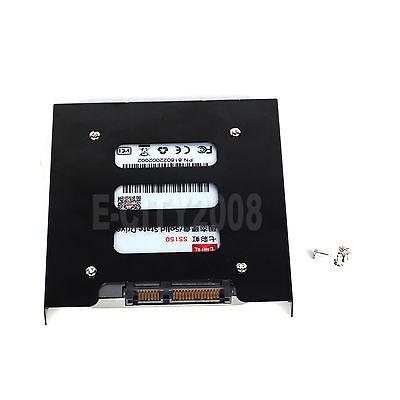 lof 2pcs, 2.5 a 3.5 bahía ssd disco duro hdd montaje