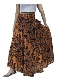 1797a6e89 Lofbaz Falda Bohemia Hippie De Mujer Larga Vestido Gitano Bo