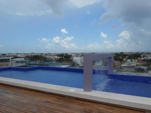 loft 2 hab centro playa del carmen p2560