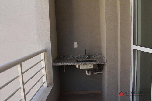 loft com 1 dormitório à venda, 37 m² por r$ 286.000,00 - rudge ramos - são bernardo do campo/sp - lf0001