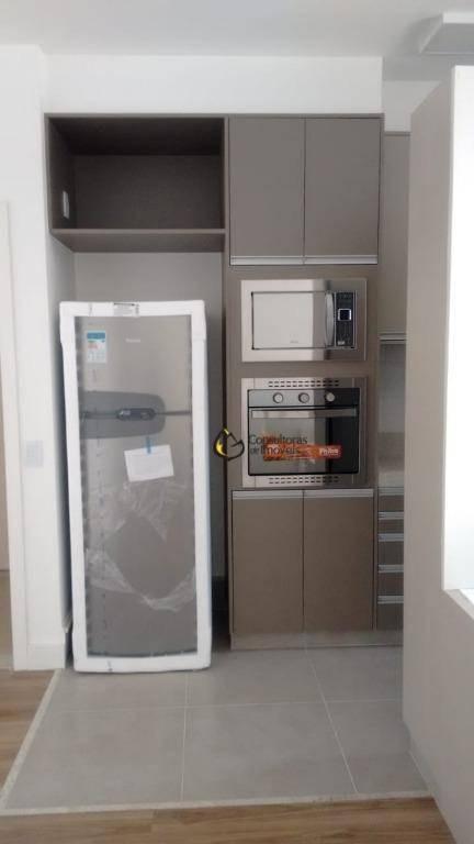 loft com 1 dormitório à venda, 58 m² por r$ 650.000,00 - cambuí - campinas/sp - lf0001