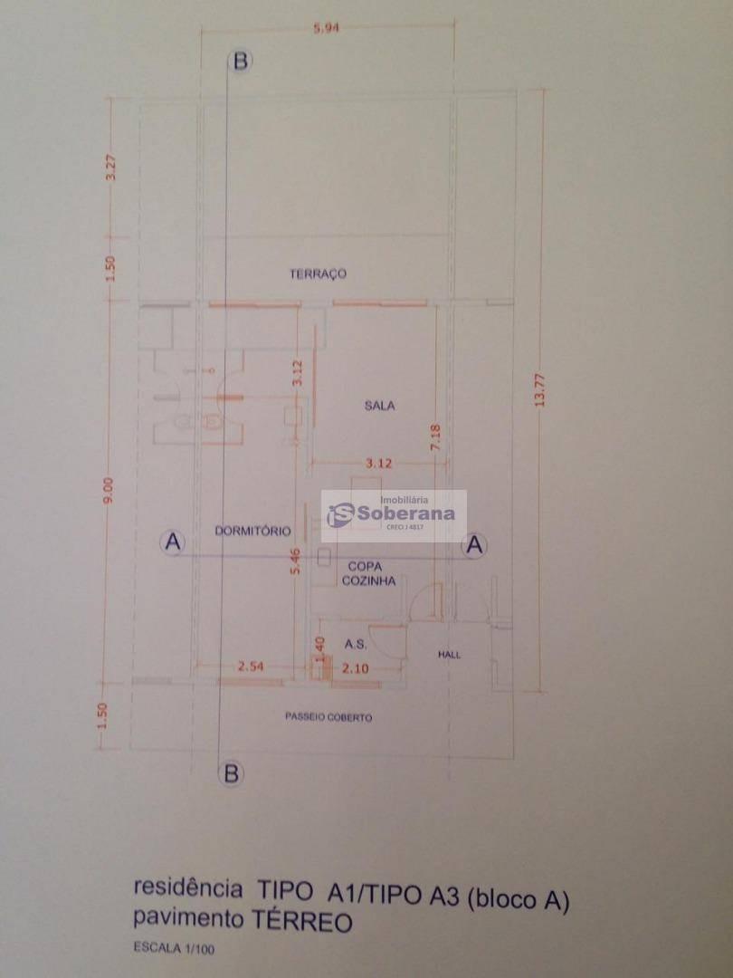 loft com 1 dormitório à venda, 68 m²  -vila brandina - campinas/sp - lf0002