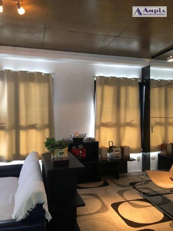 loft com 1 dormitório à venda, 70 m² por r$ 529.000,00 - vila regente feijó - são paulo/sp - lf0001