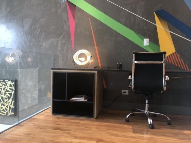 loft com 2 dormitório à venda, 124 m² por r$ 680.000 - granja viana - cotia/sp - lf0043