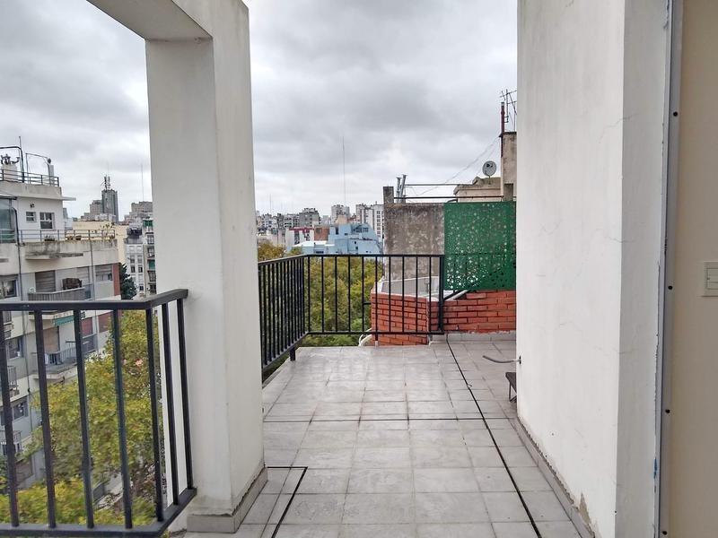loft con terraza propia divisible en 2 ambientes